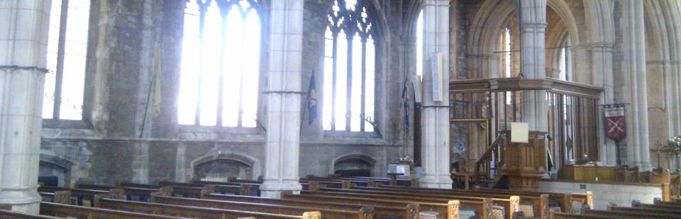 Main worship area (nave and north aisle)