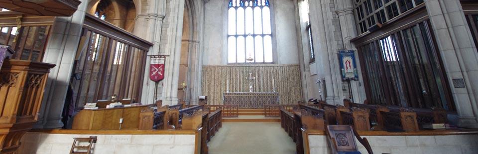 Choir Stalls & Altar