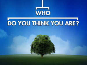 "WHO DO YOU THINK YOU ARE? -- Pictured: ""Who Do You Think You Are?"" Logo -- NBC Photo"